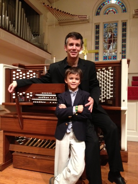 Jason Duroy, our guest artist  at BUMC with his future artist!
